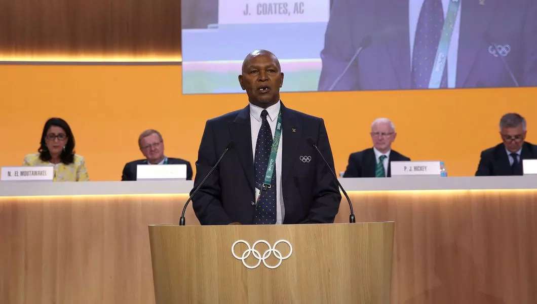 Kipchoge Keino awarded the first Olympic laurel