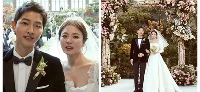 Sila na ang mayaman! The estimated total amount spent by Song Hye Kyo & Song Joong Ki for their wedding has been revealed