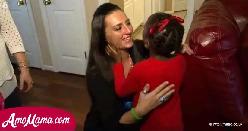Madre afligida conoció a la niña que recibió algo muy especial de su hija fallecida