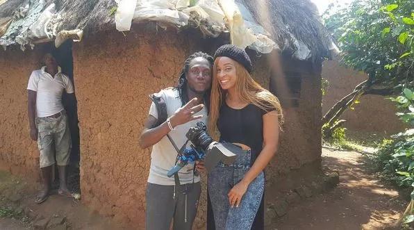 Video hii ya utani aliyounda Alaine kuhusu wimbo wake na Willy Paul inakuvunja mbavu kwa kicheko