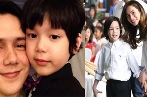 Look at all grown-up Alex Jazz, Jennylyn Mercado's son. Does he look like his Dad, Patrick?