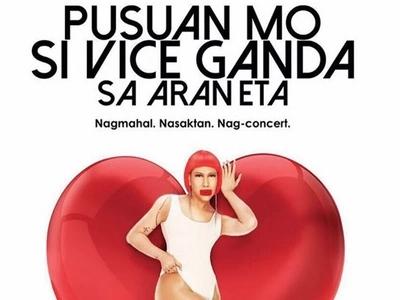 Para sa mga nagmahal at nasaktan: Vice Ganda will heal your hearts with his upcoming Valentine concert at Araneta
