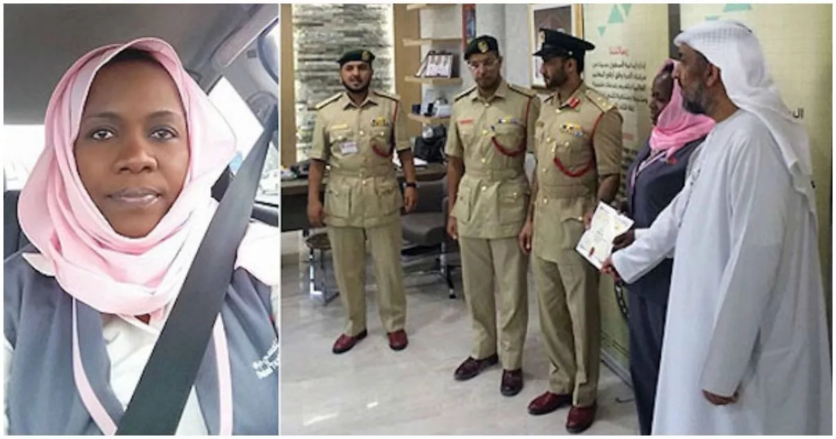 36-year-old African woman is named best taxi driver in Dubai (photos)