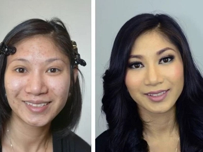 OMG: Man divorces wife after seeing her for the first time without makeup