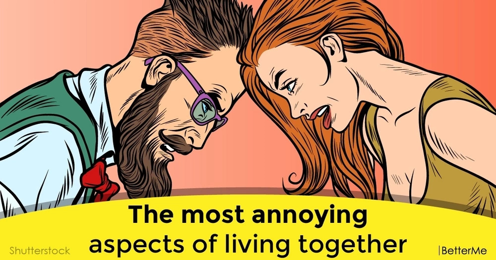 The most annoying aspects of living together