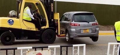PHOTOS: Strict Security Sweep At JKIA As Obama Set To Land After 6pm