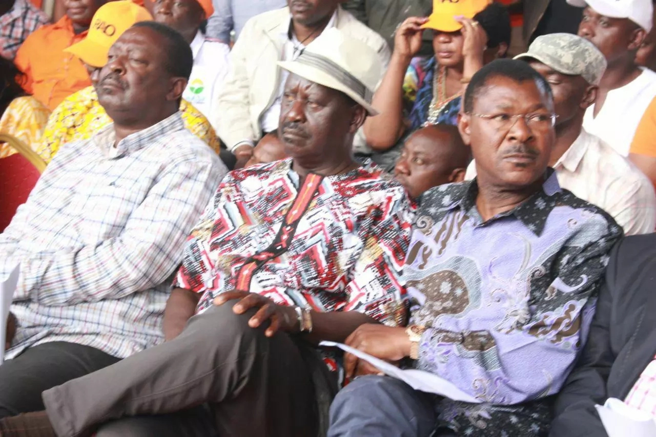 Uncertainty grips NASA ahead of Raila's unlikely swearing in ceremony