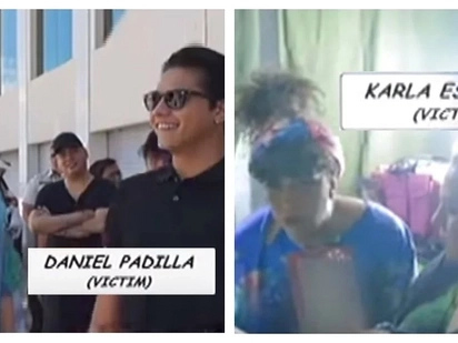 Napamura ang mag-ina! Vice Ganda pulls off a hilarious prank on Daniel Padilla and Karla Estrada on the set of 'The Revengers'