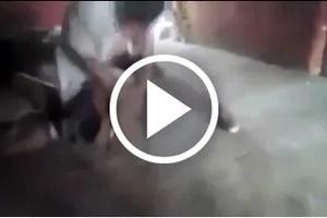 Hombre dio brutal golpiza a su esposa en presencia de sus hijos