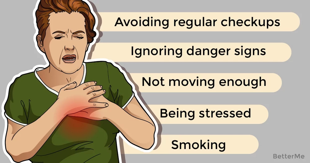 5 harmful habits that can damage your heart