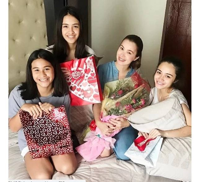 Look What Sunshine Cruz' Daughters Gave Her On #MothersDay