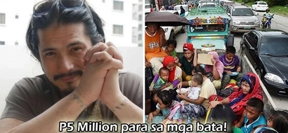 Eto ang totoong 'Robin Hood!' Robin Padilla generously donates P5M for Marawi children affected by terrorist attacks