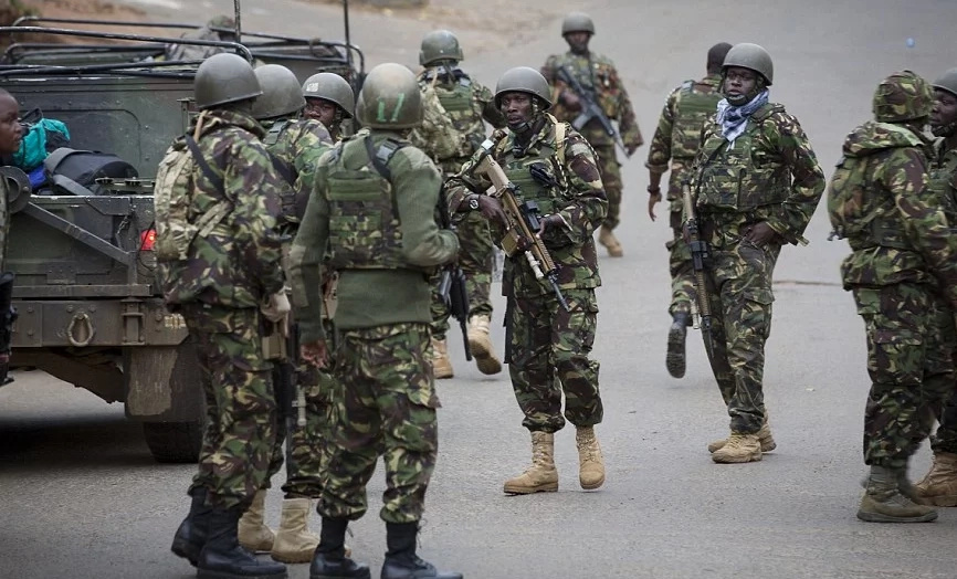 KDF reacts after Raila releases documents claiming military being used to rig elections
