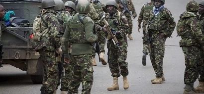 JUST IN: KDF soldiers captured by al- Shabaab