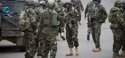 Five al-Shabaab militants killed,AK 47 rifles,hundreds of live bullets recovered