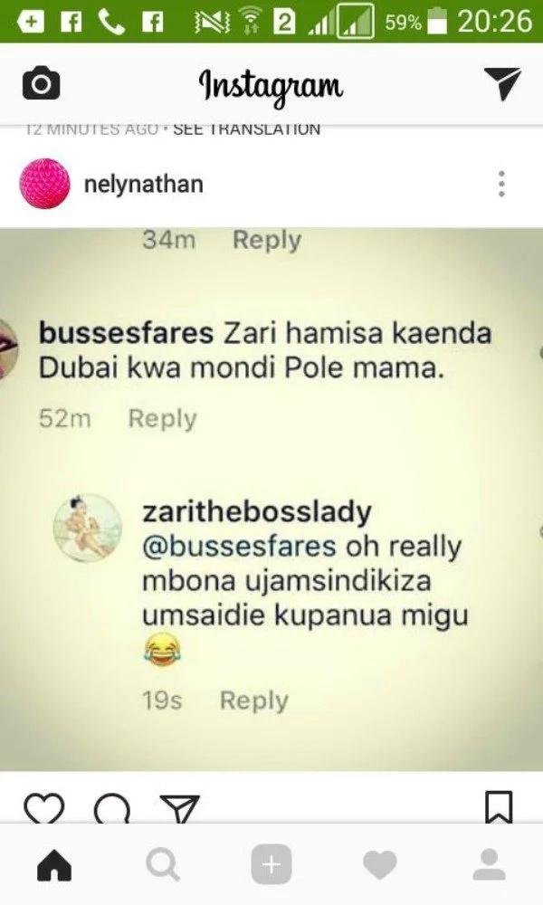 Mpango wa kando wa mume wangu ni 'malaya' Dubai - Zari amwaibisha Hamisa Mobetto
