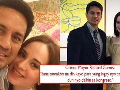 Nairita si Goma! Richard Gomez lashes out at netizens who were eager to know the vote of Cong. Lucy Torres on CHR budget, 'Sana tumakbo na din kayo'