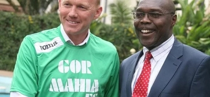 Gor Mahia coach Frank Nuttall detained over unpaid hotel bill, see amount