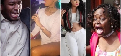 Huddah posted a very shocking photo during the weekend, but look what Vera posted after seeing that