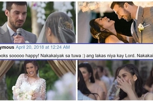 Parang pelikula sa ganda! Official wedding video of Rachelle Ann Go and Martin Spies' beautiful union in Boracay