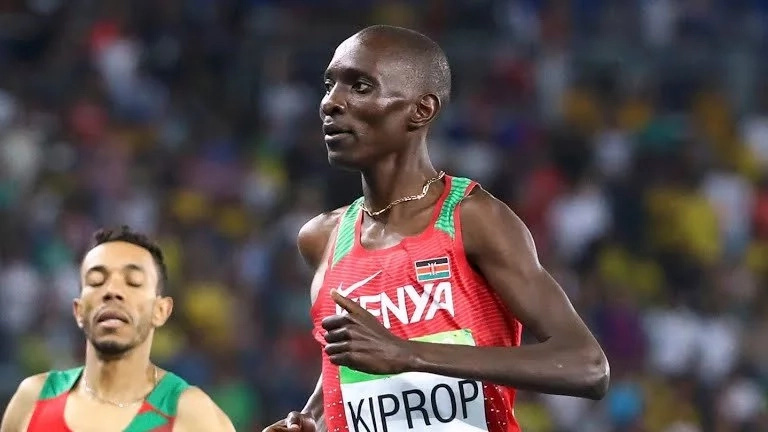 Kenya's Olympic champ Kiprop denies doping