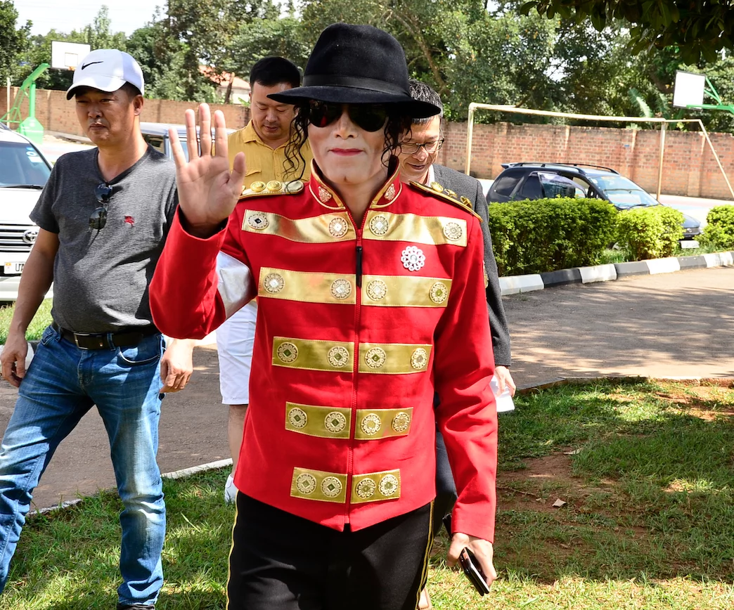China's Michael Jackson storms Uganda, shocks everyone by his resemblance to late king of pop