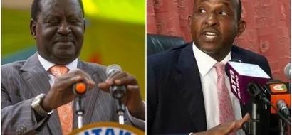 Duale endorses Raila Odinga for NASA flag bearer