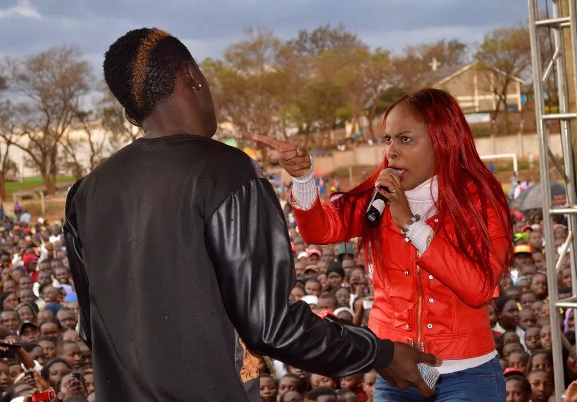 Size 8 torn apart by unforgiving Kenyans for doing this
