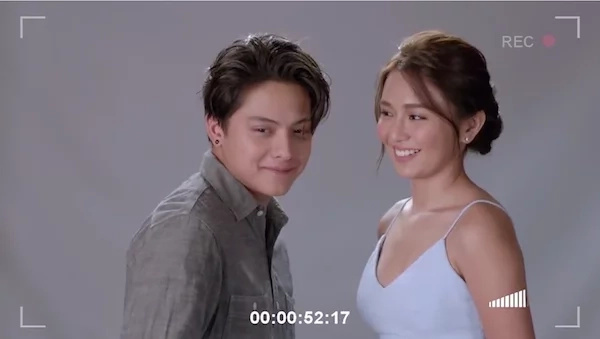 Outtakes from KathNiel's latest movie will make you feel kilig