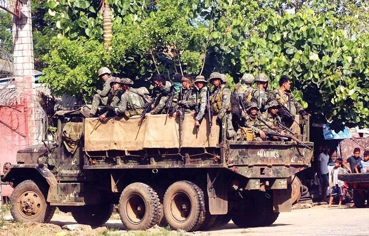 Alleged Abu Sayyaf group kills 3 Marines in Sulu