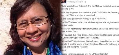 Fearless journalist accuses Ka-DDS of being afraid of VP Leni