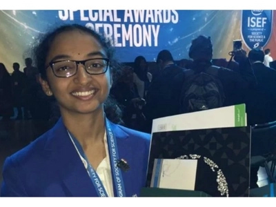 Rare moment for Indian teen as world plans to name a planet after her. Find out why (photos, details)