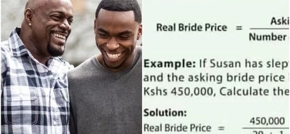 This hilarious way of calculating bride price for Kenyan ladies is exciting the online community