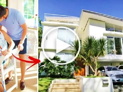 Take a look at Nikki Gil's tropical three-story home in Las Piñas City! Every part of her house will blow your mind!