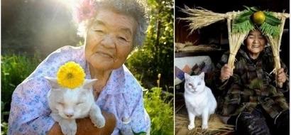 La emotiva despedida de esta abuela al gato que cambió su vida te hará derramar más de una lágrima...