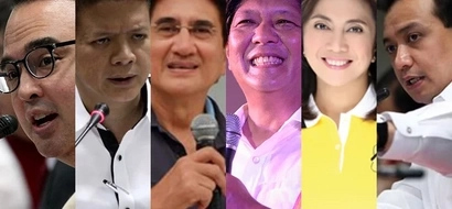 Who among the VP candidates got the most zero votes?