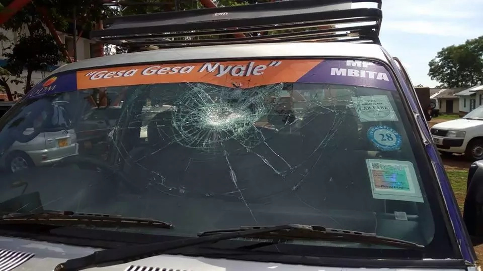 Millie Odhiambo attacked in her constituency, supporters BADLY injured
