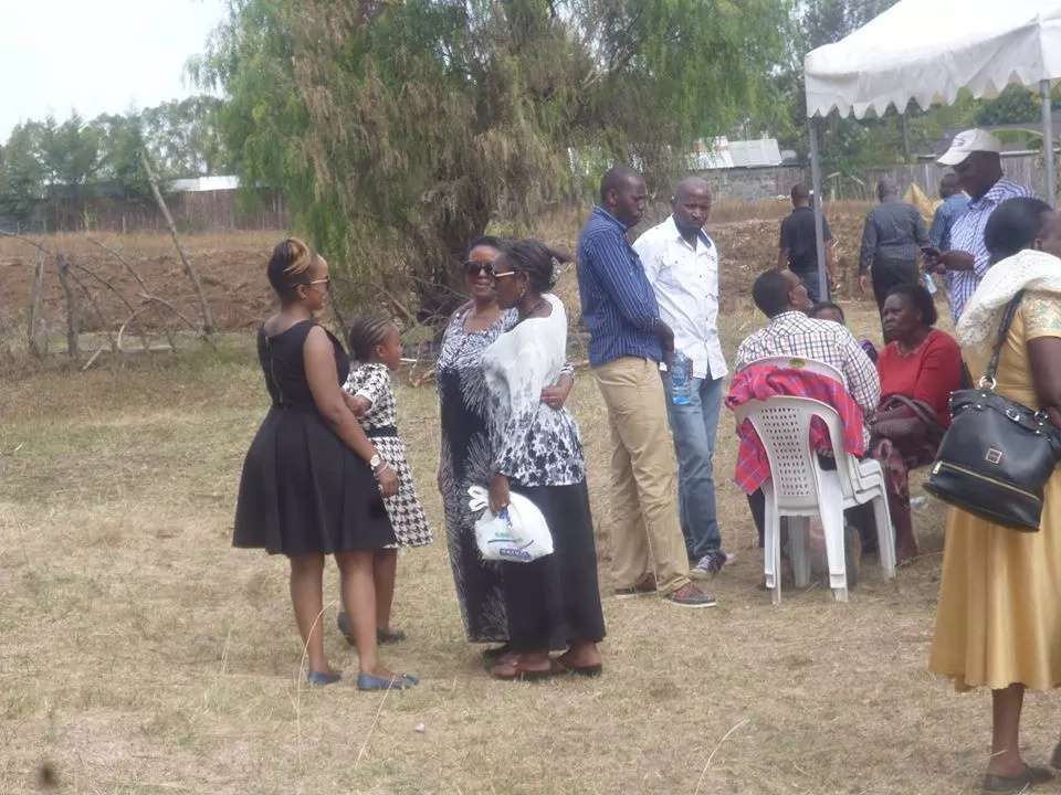 Singer Avril's father laid to rest at their family home in Njooro