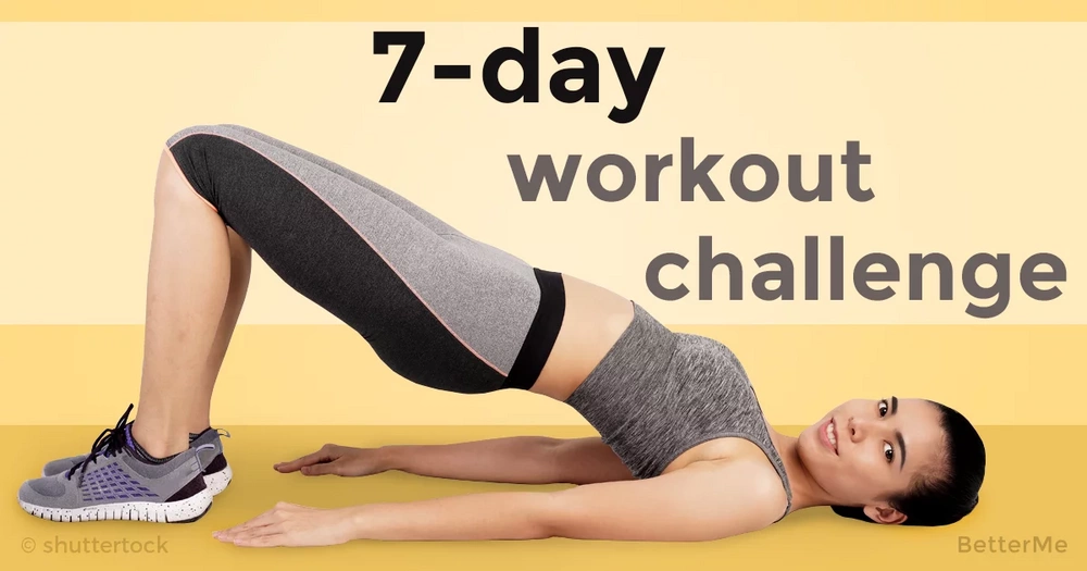 7-day morning workout challenge for busy women