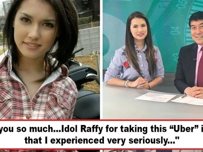 Nag-sorry na siya! Uber driver apologizes to Maria Ozawa for allegedly harassing former adult film actress, thanks to Kuya Raffy Tulfo