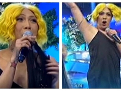New and improved na! Vice Ganda shows off his smooth and light kili-kili on 'It's Showtime'