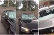Watch dramatic moment raging wife smashes cheating husband's BMW