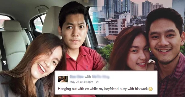 Woman posts photo of her with her 'ex', post went viral