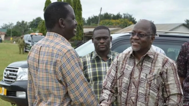 Magufuli will listen to me than Uhuru - Raila