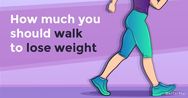 How much you should walk everyday to start losing weight?