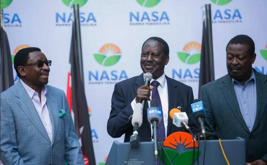 Several politicians defect from Jubilee to NASA with just 38 days to the repeat presidential election