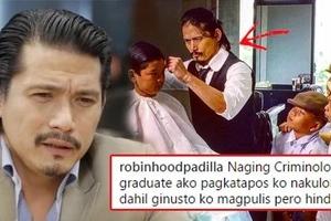 Bad Boy Robin Padilla makes shocking confession in his IG post, 'Gusto kong maging pulis pero di ako nakapag-board dahil...' You will be shocked why!
