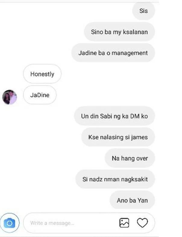Netizens accuse James Reid of sabotaging Direk Tonet's movie & cheating on Nadine Lustre