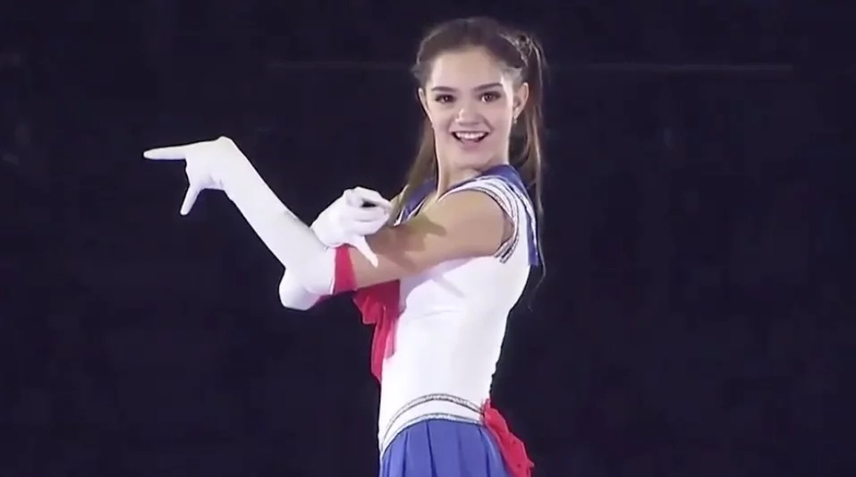 Awesome: Cute Russian ice skater goes viral in Japan after 'Sailor Moon' performance!