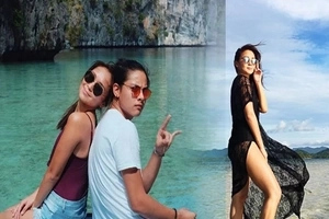 Kathryn Bernardo celebrates her birthday with Daniel Padilla in El Nido, Palawan